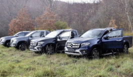 Nuovo Mercedes-Benz Classe X come va in off road