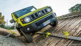 Su Quattroruote di ottobre – La prova della Suzuki Jimny 1.5
