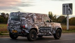 Land Rover – Nuove foto della Defender in arrivo nel 2020