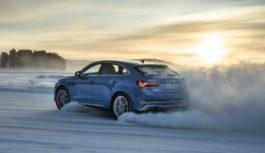 Audi – Sul ghiaccio con la RS Q3 Sportback