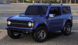 Ford Bronco: una foto spia ha svelato gli interni dell'atteso fuoristrada