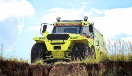 L'Avtoros Shaman è l'inarrestabile ambulanza russa a otto ruote motrici