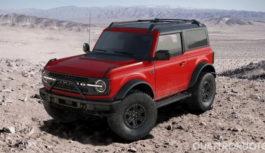 Ford Bronco – Aperto il configuratore Usa: ecco tutte le versioni e i prezzi