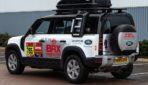Dakar 2021: due Land Rover Defender a supporto del team Bahrain Raid Xtreme