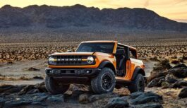 Il Ford Bronco conquista le gole dell'Hell's Gate