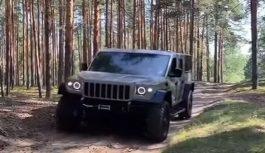 Strela: ecco l'Hummer russo
